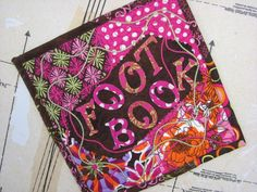 FOOT BOOK Cover - via @Craftsy