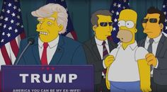 'The Simpsons' Reacts To Correctly Predicting That Donald Trump Becomes President #Entertainment #News