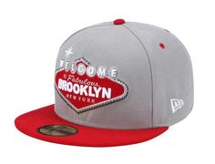 Welcome to Brooklyn 59Fifty Fitted Baseball Cap by NEW ERA