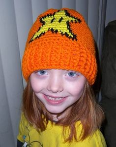 Child's Invincibility Star Convertible Hat *Free Crochet Pattern*. Would you believe that this pattern doubles as a scowl too! WoW! 2 for 1 deal!  Check it out! ¯\_(ツ)_/¯