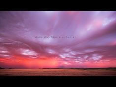 Storm Clouds Ripple and Writhe at Sunset in This Incredible Timelapse