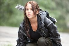 Pin for Later: 4 Ways to Be a Jennifer Lawrence Character For Halloween Katniss Everdeen From The Hunger Games