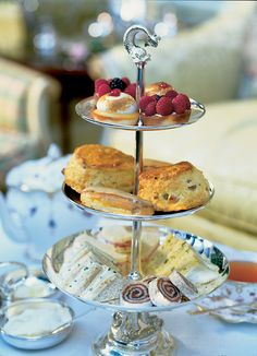 ✿⊱╮High Tea at the Prince of Wales Hotel = Niagara-on-the-Lake, Ontario, Canada