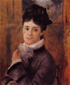 Madame Claude Monet, 1872  Pierre-Auguste Renoir