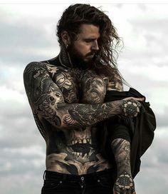 All Tatoo Gallety Tattoo Girls, Girl Tattoos, Tattoos For Guys, Tatoos, Heather Moss, Tattoo Model Mann, Tattoo Models, Et Tattoo, Beard Tattoo