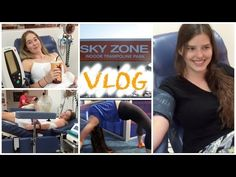 Two Bored Girls : Trampolines & Losing Blood : Vlog - YouTube