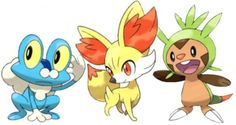 Screenshots of Starter Pokemon For Pokemon X and Y Revealed