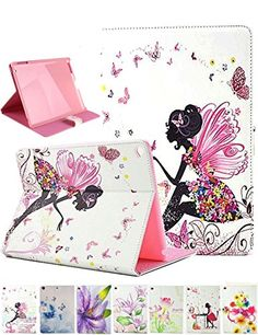 Dteck iPad Mini 1 2 3 Case - Slim Fit Folio Stand PU Leather Case with Auto Wake/Sleep, Pocket and Card Slots Smart Protective Cover for Apple iPad Mini Mini Mini Mini Butterfly Girl Leather Case, Pu Leather, Ipad Air Case, Ipad Mini 2, Tablets, Pink Fashion, Flower Patterns, Crystal Rhinestone, Pink Girl