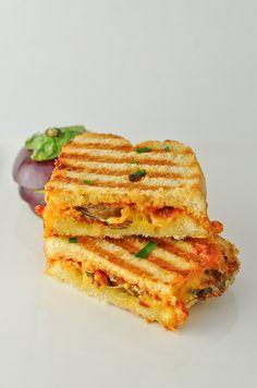 Eggplant Panini 3