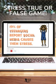 "Are you looking for something fun to assign your students as a bit of an academic break while still being valuable and that can be completed online with no resources required whatsoever? Then look no further than this online true or false web deck online game - this topic concentrates on facts about ""stress"". #stress #distancelearning #trueorfalse Behaviour Management, Behavior, Teaching Resources, Teaching Ideas, Secondary Teacher, Home Schooling, High School Students, Online Games, Distance"