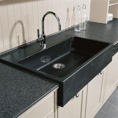 Landhausküchen-Detail: Spüle