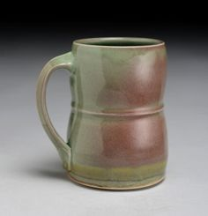 Celadon Mug by back2earth on Etsy, $28.00