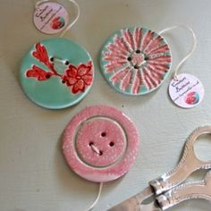 Handmade Couture Buttons