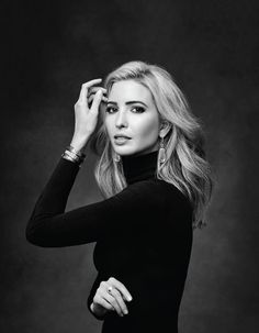 """Ivanka Trump is classy, successful, driven and learned how to step beyond her father's shadow to run her own business and campaign, """"Women Who Work"""". Studio Portrait Photography, Foto Portrait, Portrait Studio, Photography Poses Women, Headshot Photography, Fashion Photography, Photography Business, Photography Lighting, Flash Photography"""