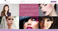 Cliente Ceci Make Up, diseño, contenidos y programación por www.pluiedi.com