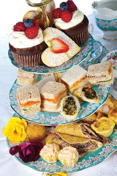 Three tiers for high tea | Stuff.co.nz
