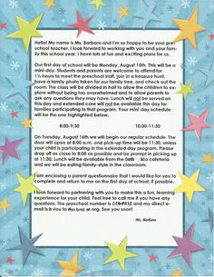 Preschool Time: Welcoming Parents and Helping Them Feel Connected from For the Children