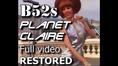 The Planet Claire recording fully restored from performance on children's TV in the UK. Sound boosted and version used from the record. Music Songs, My Music, Music Videos, Kate Pierson, Ricky Wilson, Easy Listening Music, B 52s, Island Records, Hotel California