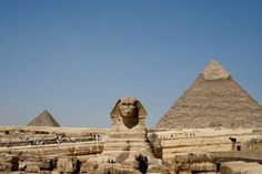 Sphynx and Pyramid #Egypt #WorldHeritage