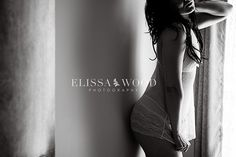 What more perfect gift for your new husband than a secret, sexy boudoir shoot?? I'm sure he'll love and treasure it forever! Let Elissa Wood create a visually stunning album for his eyes only. Click the image to learn more. Photo credit: Elissa Wood Photography