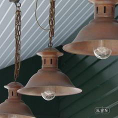Verandalamp Maxime L (1248) - KS Verlichting - Stoer & Industrieel - kettinglamp