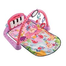 Fisher-Price Kick and Play Piano Gym, Pink Baby kicks. And that's just the beginning of this sweetly styled, oh so pink gym. Movable toys on the Baby Gym, Baby Tritte, Baby Play, Infant Play, Infant Girls, Infant Toddler, Baby Girls, Brinquedos Fisher Price, Pink Piano