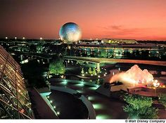Epcot Center / Disney World, Florida -  We only had one day.  I would love to go back and experience more of Disney World and re-experience Epcot (quite sure a lot has changed).