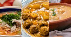 Polievkové špeciality zo Slovenska i zo sveta v desiatich overených receptoch. Mashed Potatoes, Curry, Ethnic Recipes, Lasagna, Food And Drinks, Whipped Potatoes, Curries, Smash Potatoes
