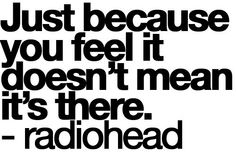 there there. #radiohead