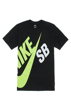 6d51f3730c78 Nike SB comes big with this men s t-shirt found at PacSun. The Big SB T- Shirt has an oversized two tone graphic on the front of this tee.