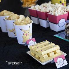 { Pokémon-party // Gratis print til kindersjokolade } - ToneroseDesign Pokemon Party, Birthday, Printable, Free, Camping, Campsite, Birthdays, Campers, Dirt Bike Birthday