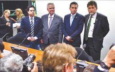 Presidente do Conselho de Ética com possíveis relatores, entre eles, Zé Geraldo (PT-PA)