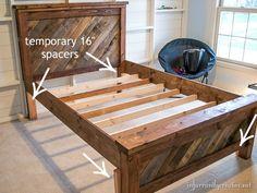 farmhouse pallet bed