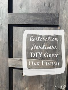 Look, any of us can build a farmhouse table. But to really get the Restoration Hardware look, you'll need to recreate with their gorg...