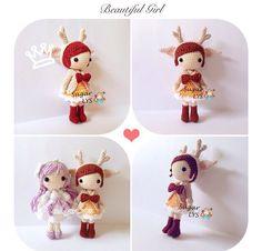#amigurumi #amigurumidoll #crochet  #crochetdoll #yarn #handicraft  #myhandmade #craft