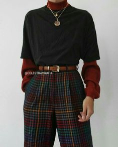 the latest fashion outfits to change your style 1 Cute Casual Outfits, Retro Outfits, Vintage Outfits, Simple Edgy Outfits, Soft Grunge Outfits, Pale Grunge, Flannel Outfits, Layering Outfits, Vest Outfits