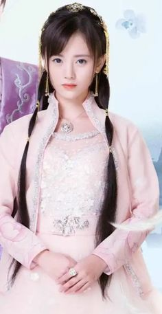Legend of Yunxi Beautiful Chinese Girl, Beautiful Fantasy Art, Lovely Eyes, Castle In The Sky, Old Dresses, Female Character Design, Beautiful Bollywood Actress, Casual Hairstyles, Chinese Actress