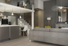 Home sweet home, place sathonay Marion LANOË Loft, Living Dining Room, Interior Design, Small Appartment, Home, Interior, Modern House, Small Bedroom, Home Decor