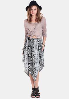 Soul Mates Paisley Skirt at #threadsence @ThreadSence