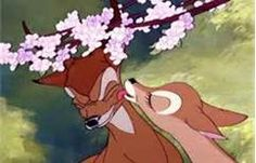 Bambi is probably one of the greatest love stories. Bambi is FOR SURE one of the greatest love stories! Disney Pixar, Walt Disney, Disney Animation, Disney Amor, Cute Disney, Disney And Dreamworks, Disney Cartoons, Disney Magic, Animation Movies