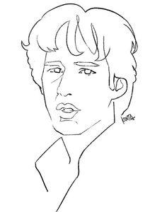 #RichardGere #portrait #art #illustration #kentaueoka #リチャードギア #天国の日々