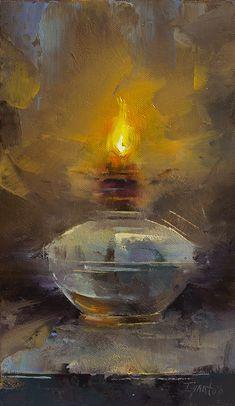Old Lamp,12x7, Oil,$990.jpg