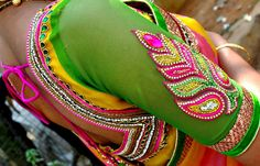 Top 10 Blouse Designs for Wedding Silk Sarees ~ Celebrity Sarees, Designer Sarees, Bridal Sarees, Latest Blouse Designs 2014