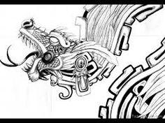 Image result for aztec snake