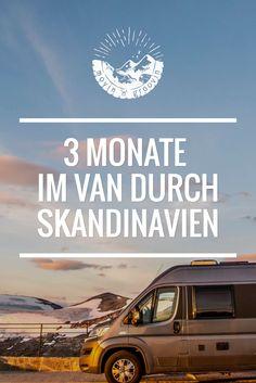 Highlights meiner Reise durch Norwegen, Schweden & Finnland. Skandinavien im Campervan / Wohnmobil - ein Traum!