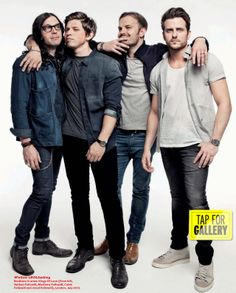 One of my fav. bands...Kings Of Leon Q Magazine, September 2013