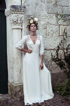 Elise Hameau 2015 Wedding Dress