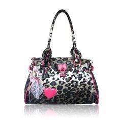 purses | Anna Smith Animal Print Designer Handbag | Designer Handbags | Star ...