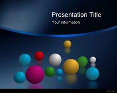 Space Balls PowerPoint Templates PPT Template