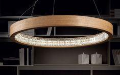 Libe Round Pendant | Masiero at Lightology